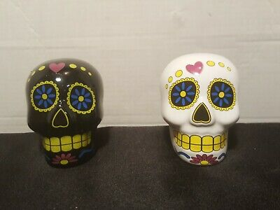 Day of the Dead Plaster Skull Paintable 3D Ornament Frida Calavera