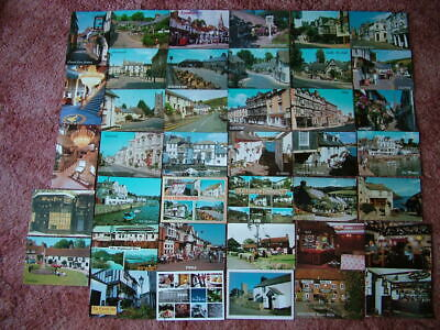 40 Postcards of UNITED KINGDOM PUBS, INNS, HOTEL'S, ETC. Modern size.