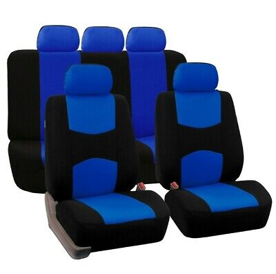 9Pcs Auto Front Row Back Row General Seat Covers For Car Universal Protectors