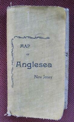 1900 Map of Anglesea Cape May County New Jersey J. L. Smith Map Publisher Phila.