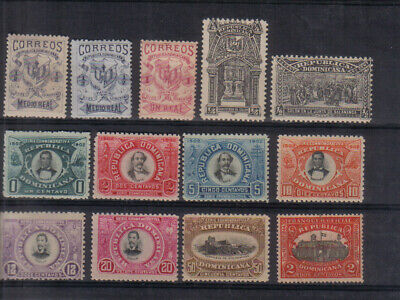 Dominican Republic 1879-1911 Lightly mounted mint collection