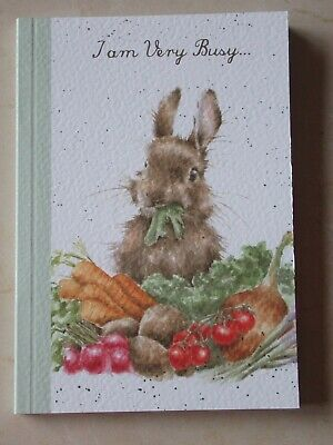 Beautiful WRENDALE A6 Paperback Notebook - GROW YOUR OWN - BUNNY - NEW