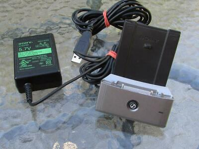 Sony Ac Adaptor Pega-Ac510 With Cradle Pega-Uc500 For Clie Peg-S Series
