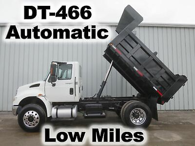 4400 Dt-466 270-Hp Automatic 10Ft Dump Bed Body Haul Delivery Truck Low Miles
