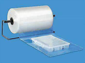 Economy Flat Poly Bags on a Roll - 1.5 mil