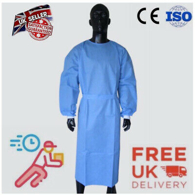 Surgical Gown Isolation Gown Protective Workwear for Doctor Nurse