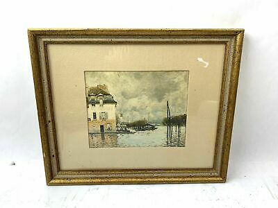 Framed Oil Painting Alfred Sisley Print