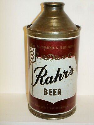 RAHR'S BEER (GREEN BAY, WIS) Cone Top  Beer Can J660