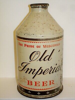 OLD IMPERIAL (CROWNTAINER) Cone Top  Beer Can J964