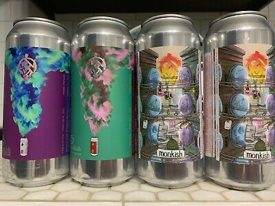"Monkish -  Mixed  (4""empty"" cans) treehouse trillium"