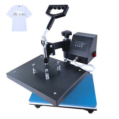 "12""x9"" SWING AWAY Digital Combo Heat Press Machine Sublimation T-shirt Printing"