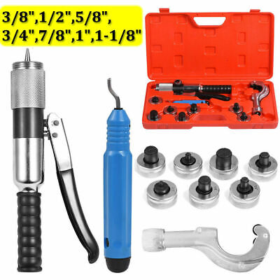 """CT-300A Hydraulic Tube Expander Kit Tubing Expanding Tools 7 Lever 3/8""""-1-1/8"""""""