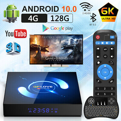 H96 Max+ TV Box RK3328  Android 9.0 Quad-Core 4GB 64GB WiFi 4K Smart Android Box