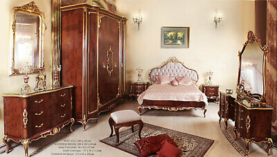 SUPERIOR FRENCH-ROYAL MASTER BEDROOM SUITE (6pcs), PALAIS SCHLAFZIMMER MÖBEL SET