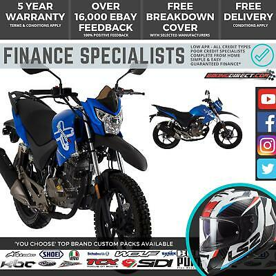 Lexmoto Assault 125 125cc Naked Enduro Motorcycle Finance Delivery