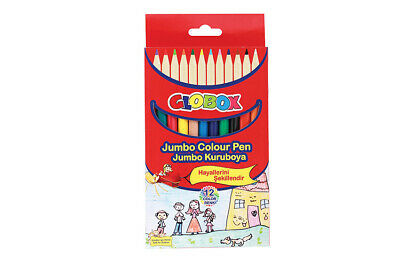 Quality Lead 3mm Jumbo Color Pencil 12 Colors