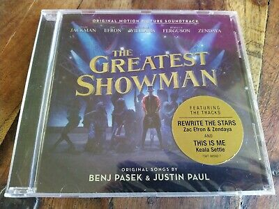 The Greatest Showman Original Picture Soundtrack New CD 2019
