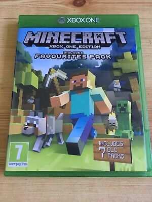 Minecraft Xbox One Edition (includes Favorite Pack)