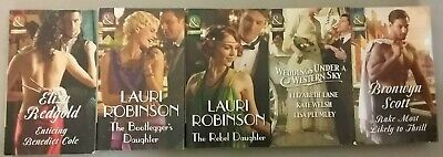 5 'Mills & Boon Historical' Books Various Authors ** £3.25 Uk Post ** Paperback