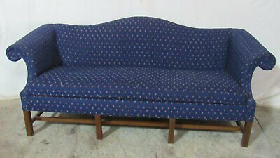 Sherrill Sofa  Couch Settee Chippendale Camelback