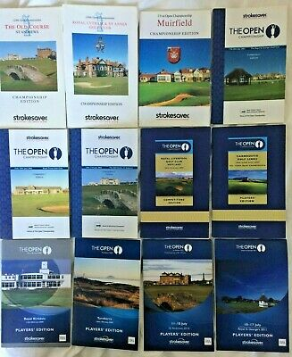 12 Open Golf Championship 'Players' Edition' Course Strokesavers (2000-2011)
