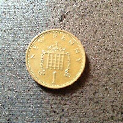 1P New Penny 1971