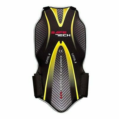 Moto Back Protector SAFETECH 845 Approved Liv. 2 SIZE S