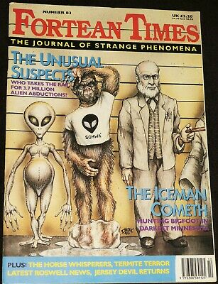 Fortean Times UK Magazine Issue 83 October/November 1995