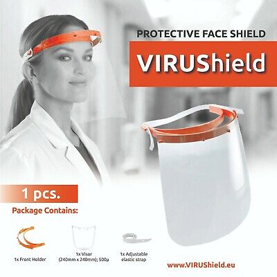 VIRUShield™ protective face shield