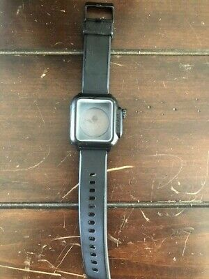 Catalyst Water Proof Case for Apple Watch 42mm Series 3 - Stealth Black