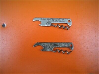 Lime Cola Bottling Company, Opener With Corkscrew, Oakland City,Indiana,