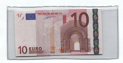 10 Euro Bank Currency  2002