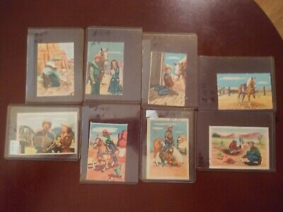 Roy Rogers Post Cereals Pop Out cards MINT