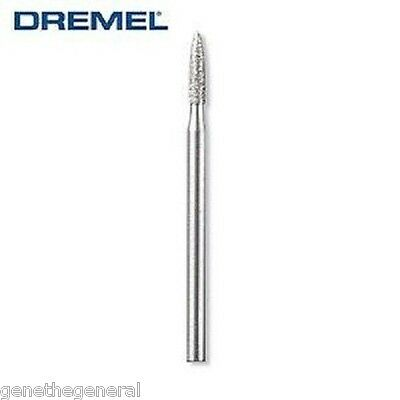 10 NEW DREMEL DIAMOND WHEEL POINT BIT #7144 JEWELRY GLASS 3/32in ( 2.4mm ) SHANK
