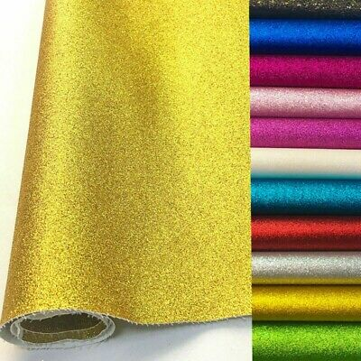 GLITTER  Fabric - For Sparkly DIY Craft Making Bows Gifts Fancy T-Shirt Dress