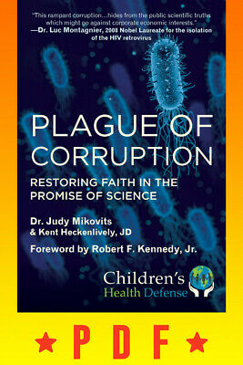 ✅Plague of Corruption by Kent Heckenlively, Judy Mikovits 2020✅DIGITAL✅
