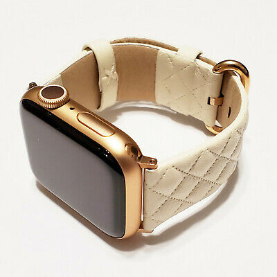 Leather Band fits Apple Watch Series 5, 4, 3, 2, and 1