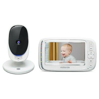 """Motorola Comfort 50 Video Baby Monitor with 5"""" Color Display Zoom Night Vision"""