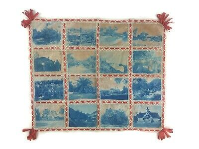 Antique Early 20th Century Photographic Doll Baby Quilt Los Angeles Post Mortem