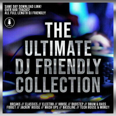 The Ultimate DJ Collection - Full Length Tracks! - SAME DAY DOWNLOAD!!!