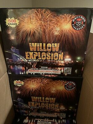 Firework Labels Great Piece For Your Collection. 2 Box Label