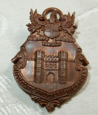 1913 Bronze Saipping Medal London & Cripplegate Photographic Society Photo