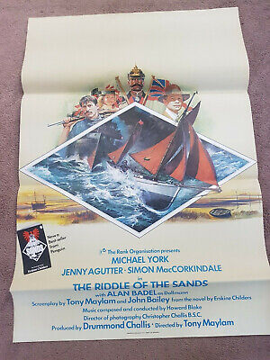 Riddle of the Sands    One Sheet    Cinema Poster  27 X 40