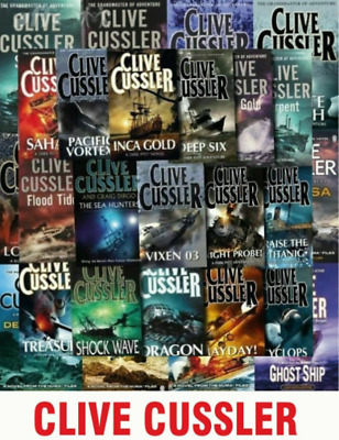 Clive Cussler Collection - 76 AUDIOBOOK(MP3)