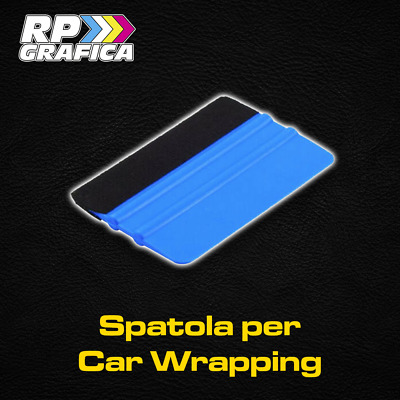 SPATOLA PROFESSIONALE car wrapping TOOLS adesivi feltro gomma SQUEEGE
