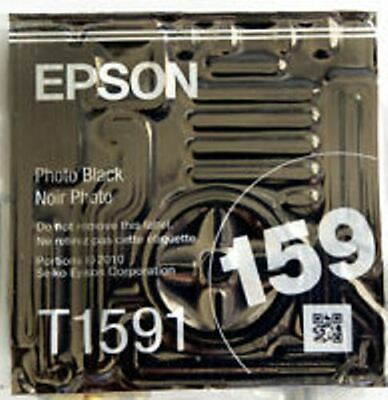 NEW Epson T1591 Photo Black Ink Stylus Photo R2000 Genuine