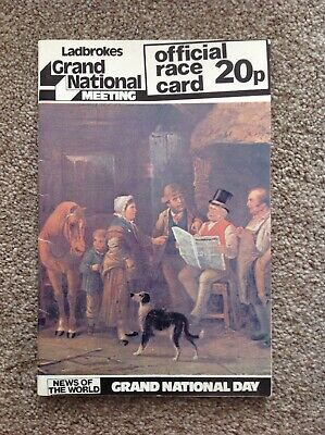 1976 Grand National. Rag Trade Beats Red Rum