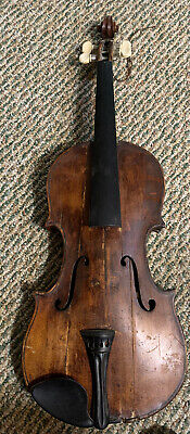 "Antique Nicolus Amatus Violin Full Size 24""x9"""