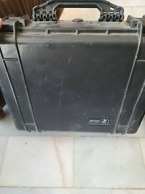 Pelican 1550 Case Black W/foam Insert. Free Shipping
