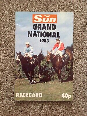 1983 Grand National .  Corbiere Wins